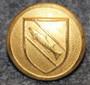 Vallorbe, sveitsiläinen kunta, 15,5mm, kullattu