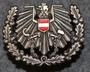 Austrian cap badge. Mützenabzeichen Österreich