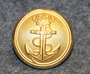Sjøforsvaret, Royal Norwegian Navy, 23mm, Gilt, old model