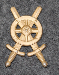 Swedish collar badge, logistics.