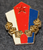 Yugoslavian cap badge.