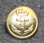 Sjøforsvaret, Royal Norwegian Navy, 15mm, Gilt
