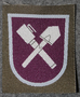 Finnish sleeve patch, engineers M/91
