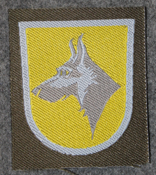 Finnish sleeve patch, K9 unit, M91