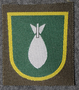 Finnish sleeve patch, mortar, M/91