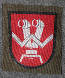 Finnish sleeve patch, artillery forward observers, M/91