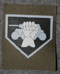 Finnish sleeve patch, armour M/91