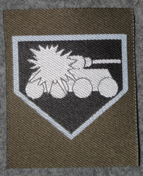 Finnish sleeve patch, anti-tank, M/91