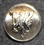Norwegian lion, 17mm, nickel