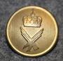 Norjan ilmavoimat, 23mm, kullattu, kapea kruunu