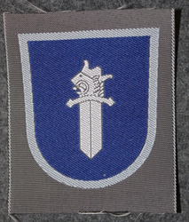 Finnish sleeve patch, military police