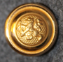 Smålands regemente I12, swedish military, 14mm, gilt