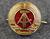 DDR, NVA kokardi, upseeri, kullanvärinen.