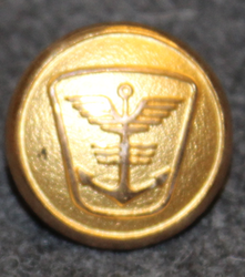 Rederiet Mercandia, shipping company, 16mm, gilt