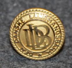 Den Danske Landmandsbank, 16mm, kullattu, lakkinappi