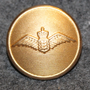 Danish air force, 22mm, gilt