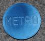 Metrobutikerna, Stockholm. 25mm, v. 1959, sininen