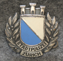 Lakkimerkki, sveitsin poliisi. Stadtpolizei Zürich