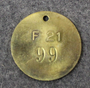 Kungliga Flygförvaltningen, F21, Kuninkaallinen Ilmavoimien Esikunta/ materiaalilaitos