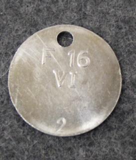 Kungliga Flygförvaltningen, F16 VI, Kuninkaallinen Ilmavoimien Esikunta/ materiaalilaitos, numeroitu