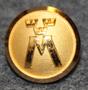 Motormännens Riksförbund. Autoliitto, 13,5mm, kullattu