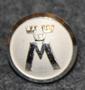 Motormännens Riksförbund. Autoliitto, 13,5mm, hopean valkea