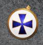 A/S Em. Z. Svitzer, shipping company cap badge.