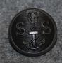 Gävle Segel Sällskap GSS, gävlen pursiseura 22mm musta