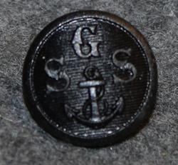 Gävle Segel Sällskap GSS, gävlen pursiseura, 15mm musta