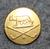 Golf klubi, Rooma, 14mm, kullattu