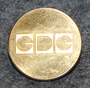 GDG Biltrafik AB, bus ( railway ) company, 20mm gilt