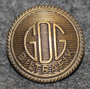 GDG Biltrafik AB, bus ( railway ) company, 20mm bronze