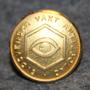 Sydsvenska Vakt Aktiebolag. 24mm gilt. Kokardi