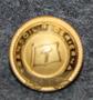 Transoil rederi AB, laivayhtiö. 14mm, kullattu