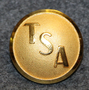 Transair Sweden AB, airline company, 21mm, gilt.