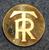 Turisttrafikförbundets Restaurangaktiebolag, rautateiden ravintolat, 26mm, kullattu
