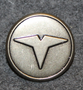 Taxi drivers uniform button, swedish. 20mm, sharp T, no shade