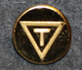 Trelleborgs Gummifabrik AB. Kumitehdas, 16mm kullattu