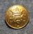 Helsingin pursiseura, kullattu, 15mm, kirkas