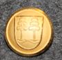 Timrå kommun. Ruotsalainen kunta, 14mm, kullattu, v2