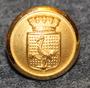 Tranås kommun. Ruotsalainen kunta, 13mm, kullattu