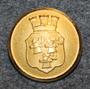 Umeå kommun. Ruotsalainen kunta, 24mm, kullattu