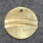 HDI 83 o 10L, fuel token, 1956