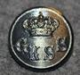Göteborgs Kungliga Segelsällskap, GKSS, Göteborgin Kuninkaallinen pursiseura. 21mm, harmaa