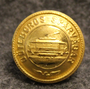 Göteborgs Spårvagar, Gothenburg tram network, 17mm, gilt