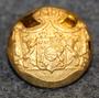 Ruotsin - Norjan unioni, vaakuna, 17,5mm, kullattu, < 1905