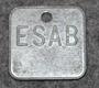ESAB Elektriska Svetsnings AB, Sähköhitsaus laitteiden valmistaja.