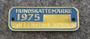 Hundskattemärke 1974, Sollentuna Kommun, Koiraveromerkki