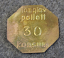 Konsum Alfa Gävle, Tomglasspollett, 30. Tuoppipantti