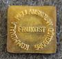 Kommunala Mellanskolan Göteborg, Frukost. School Breakfast token.